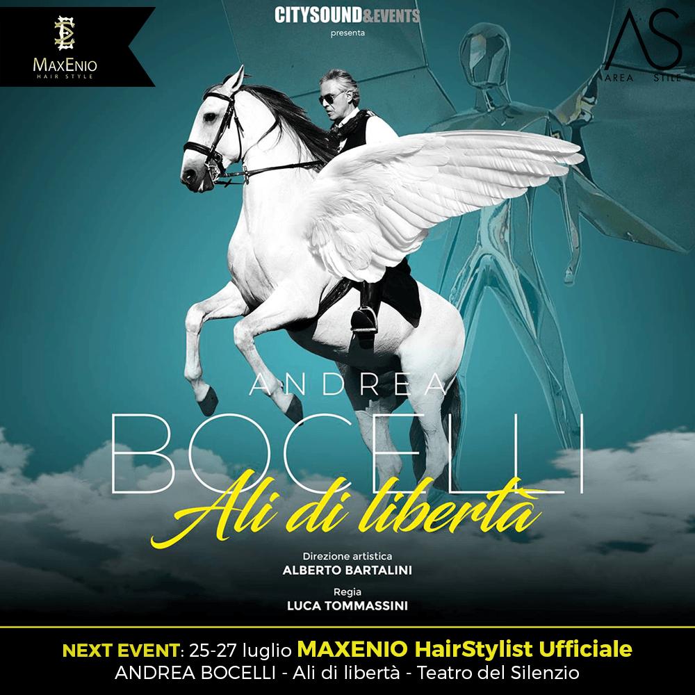 """Andrea Bocelli """"Ali di libertà"""""""