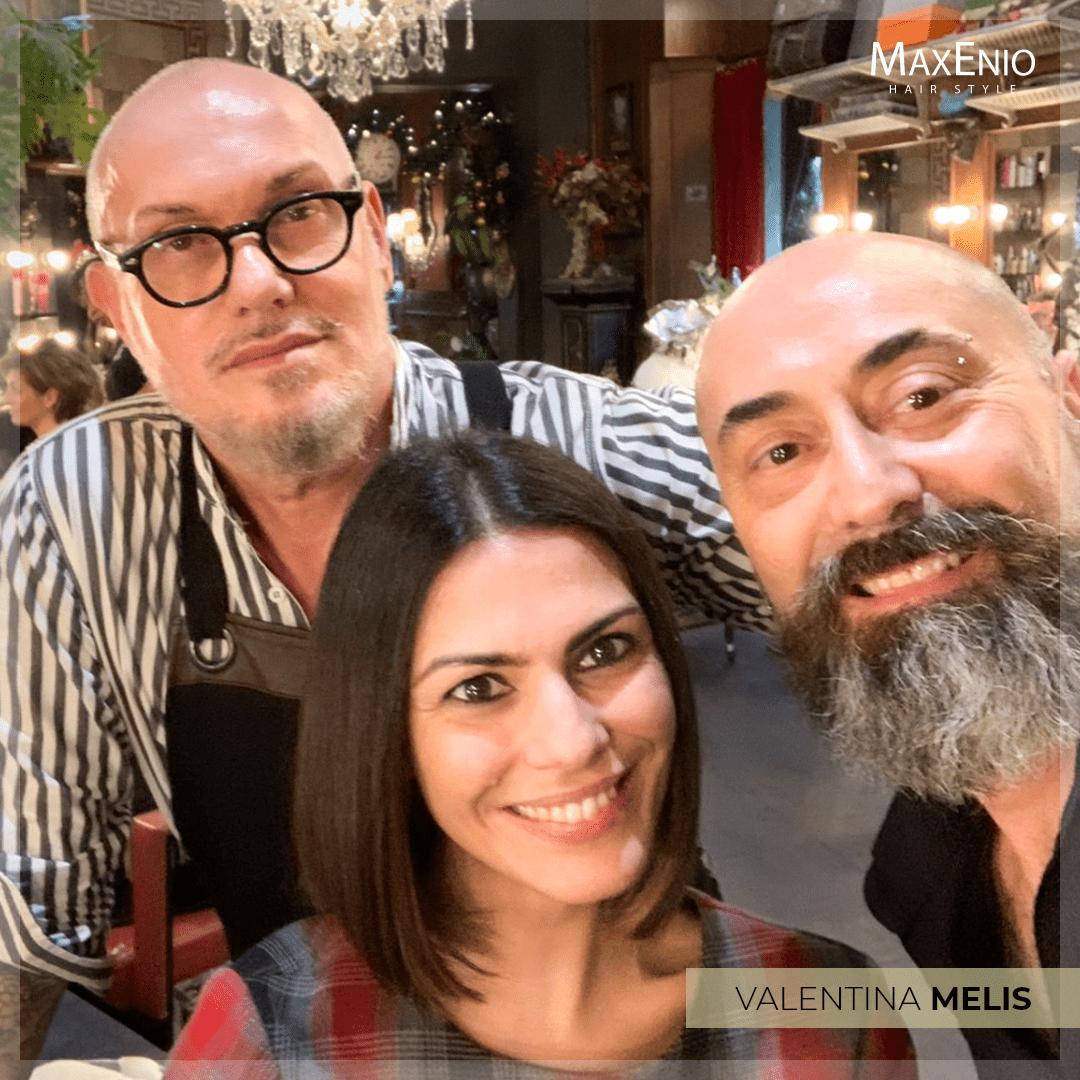 Nuovo look per Valentina Melis