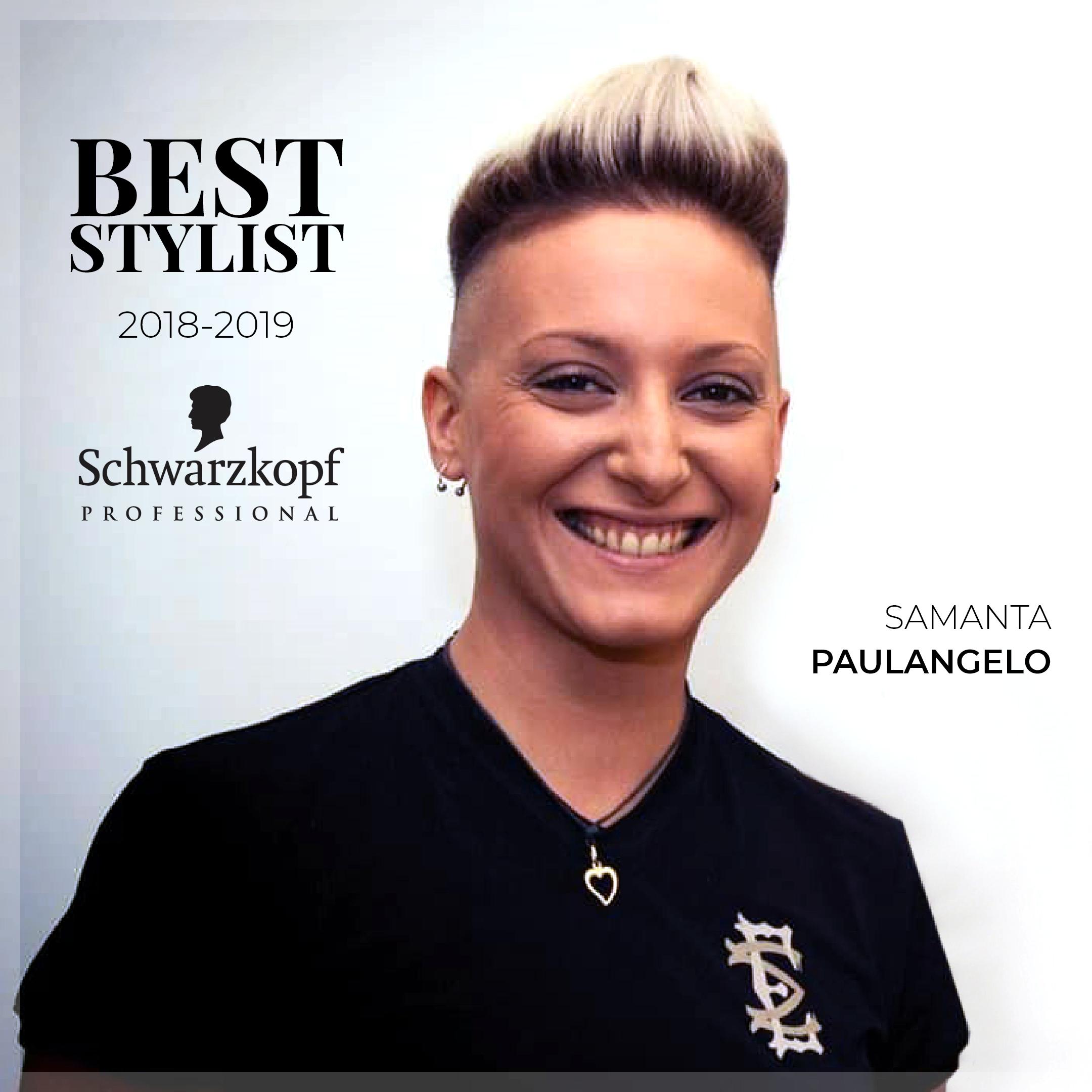 Best Stylist 2018-2019 Schwarzkopf Professional